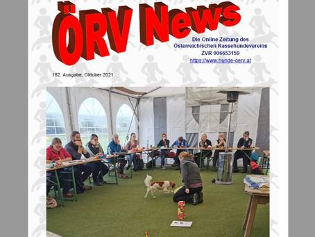 ÖRV - Zeitung Oktoberausgabe