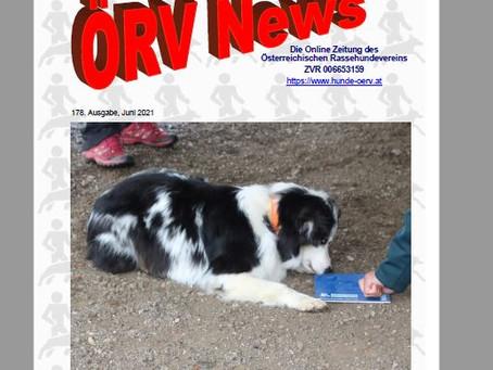 ÖRV- Zeitung Juniausgabe online!