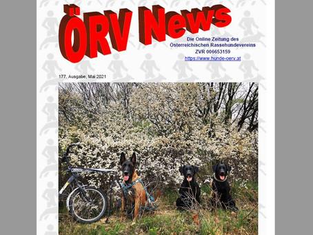 ÖRV - News Mai 2021