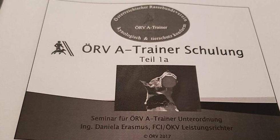 ÖRV A-Trainerschulung UO Teil 1a