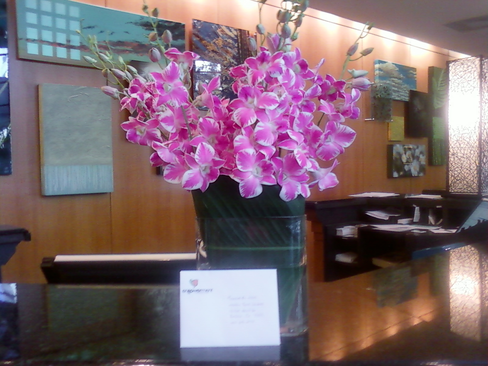 Corporate flower designs