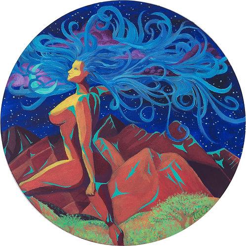 Moonlit Mountain Mama