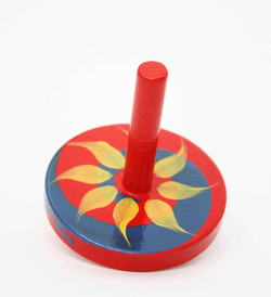 Croglin Toys - Red Spinning top low res