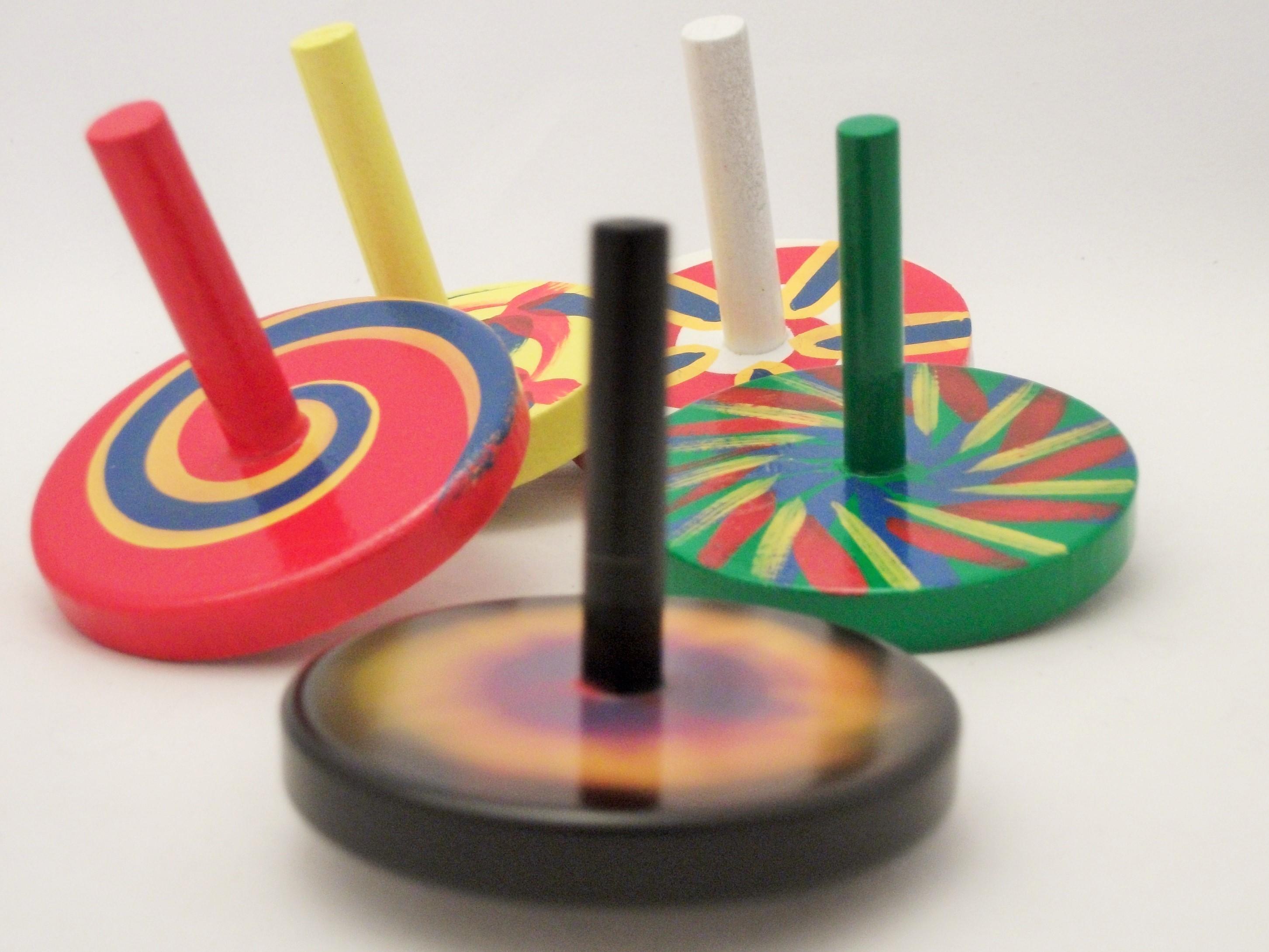 Croglin Toys - Spinning Tops 3