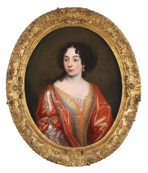 Elisabeth de Thomassin - Attribué à Henri Gascard (1635 - 1701)