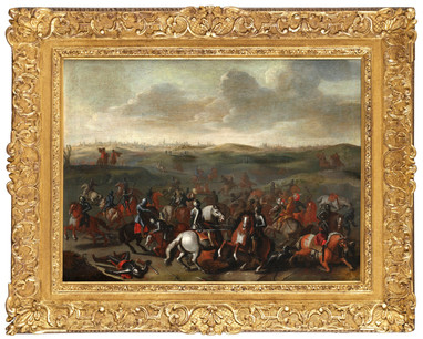 La bataille de Lekkerbeetje - Attribué à Sebastiaen Vrancx (1573 - 1647)