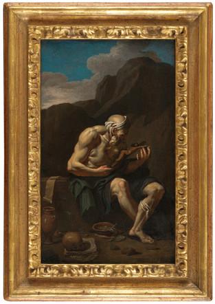 Saint Jérôme dans le désert - Ecole napolitaine du 17e siècle