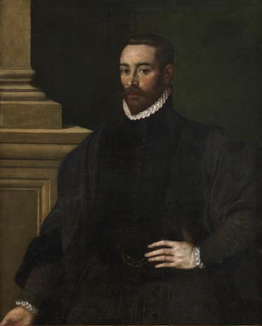 Portrait d'homme - Attribué à Giovanni Battista Moroni (Albino, Bergame 1528 - Bergame 1578)