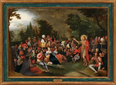La Prédication de Saint Jean-Baptiste - Atelier de Frans II Francken (1581 - 1641)