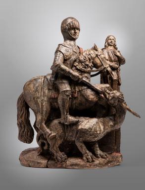 Saint Georges terrassant le Dragon – France 16esiècle