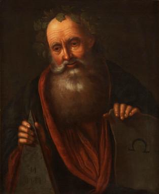 Portrait d'Euclide - Attribué à Abraham Bloemaert (1564 - 1661)