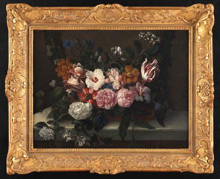 Nature morte aux fleurs – Ecole française vers 1700 - Suiveur de Jean-Baptiste Monnoyer