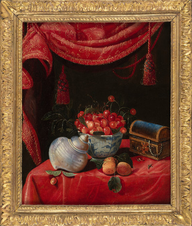 Nature morte à la porcelaine de Chine – Attribuée à François Habert