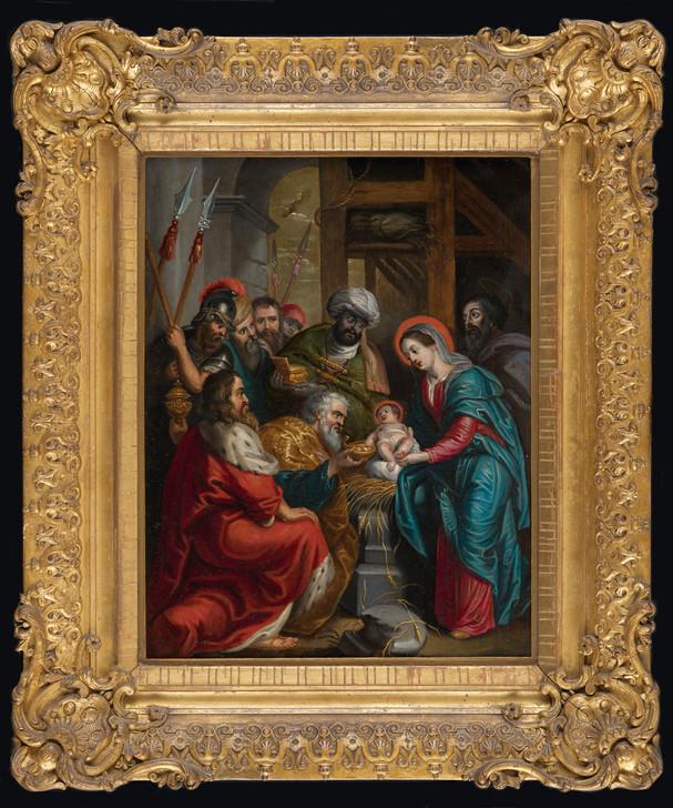 Adoration des Mages – Ecole flamande vers 1700