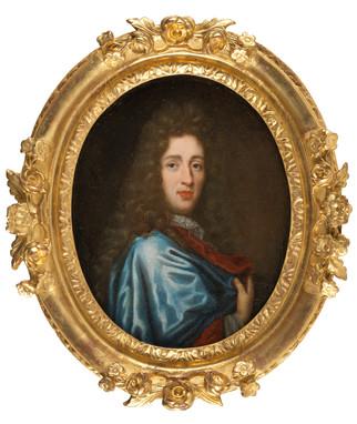 Portrait de gentilhomme - Ecole française du 17e siècle