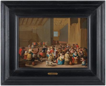 Rejouissances paysannes - Mattheus van Helmont (1623 - 1679)