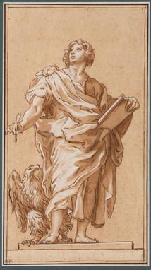 St-Jean Evangéliste – Cercle Carlo Maratta (1625 – 1713)