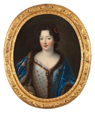 Elisabeth-Charlotte d'Orléans vers 1695 - Atelier de Pierre Gobert (1662 - 1744)