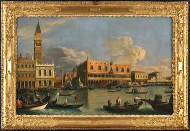 Veduta du Molo de Venise – Ecole de Canaletto fin du XVIIIe siècle