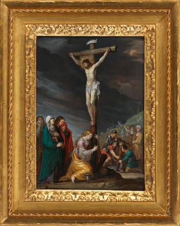 Crucifixion - Ecole flamande du 17e siècle