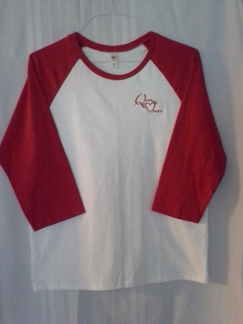 Red/White Baseball Shirt