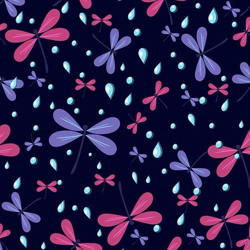 Dragonflies midnight