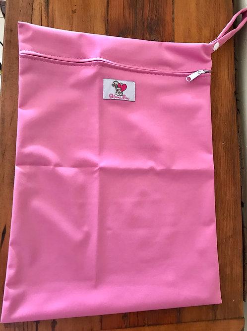 Mama Bear Wet Bag Pink