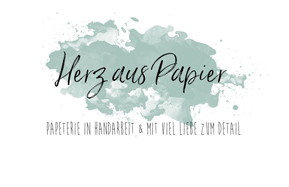 Super Papeterie   Bayreuth   Herz aus Papier ZT17