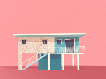 Concept Art - Key Largo Apartment House