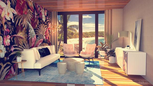 Hotel Guest Suite Concept