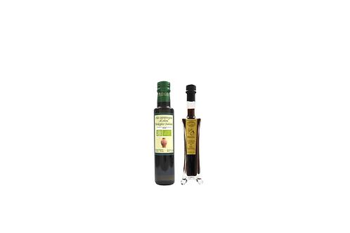 Olio extra vergine di oliva e aceto balsamico