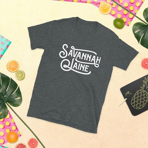 Savannah Jaine Logo Short-Sleeve Unisex T-Shirt