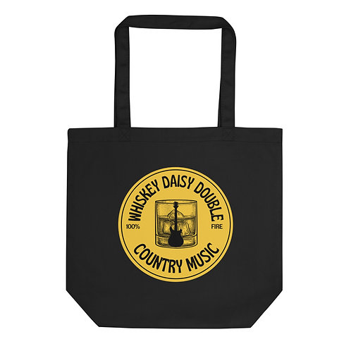 Whiskey Daisy Double Country Music Eco Tote Bag