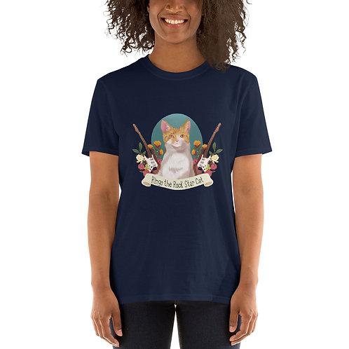 Ringo The Rock Star Cat Unisex T-Shirt