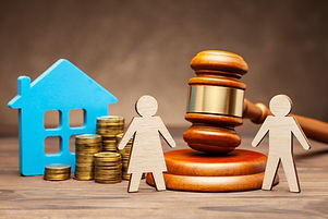 Divorce by law. Division of property after a divorce. The husband is trying to sue his wif