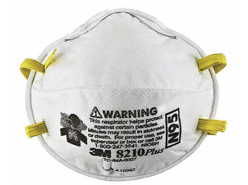 Respirador  N95 3M 8210