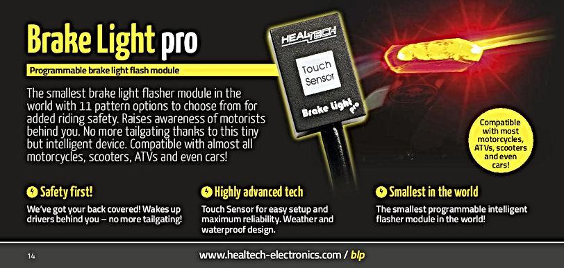 Healtech Brake Light Pro Mototek