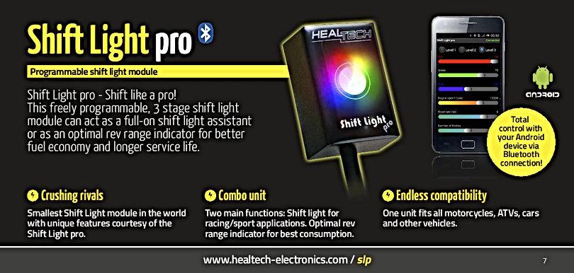 Healtech Shiftlight Pro Mototek