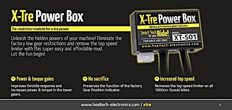 Healtech X-Tre Powerbox Mototek