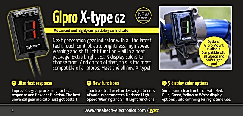 GIpro X-type G2 Mototek