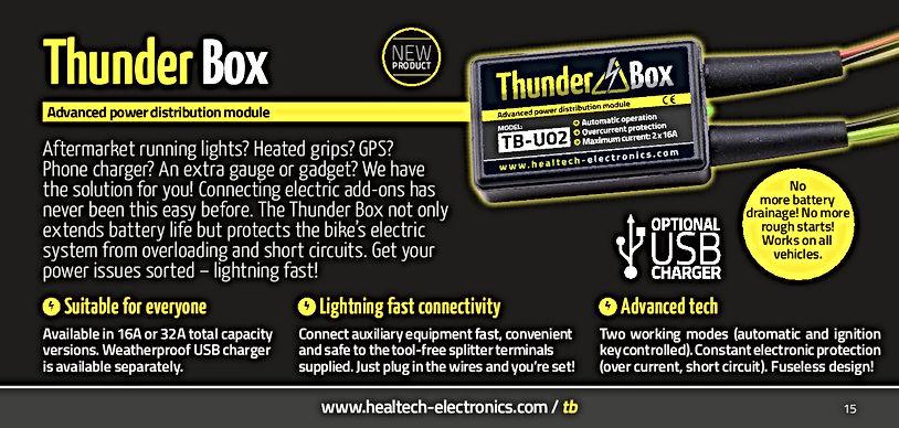 Healtech Thunder Box Mototek