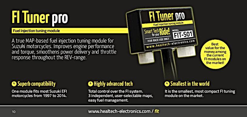 Healtech FI Tuner Pro Mototek