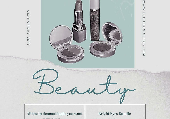 Why ELLIE Cosmetics is beautydefined!!!
