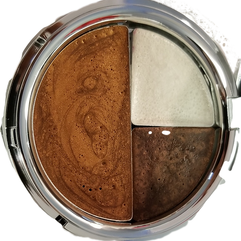 Three Color Compact - Bronzer/Bright Eyes Duo