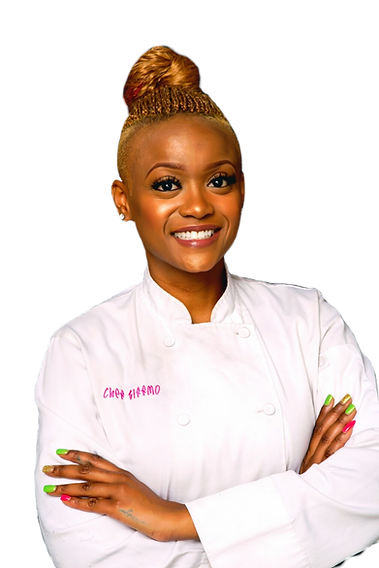 Chef Tiffany Moore Atlanta catering at the event hall at cascade