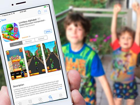 Limitless Alphabet iphone app