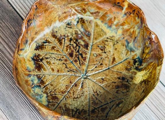 Handmade Brown Ceramic Bowl