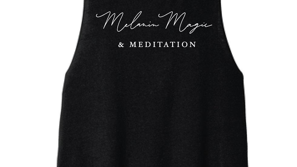 Melanin Magic & Meditation Crop Top