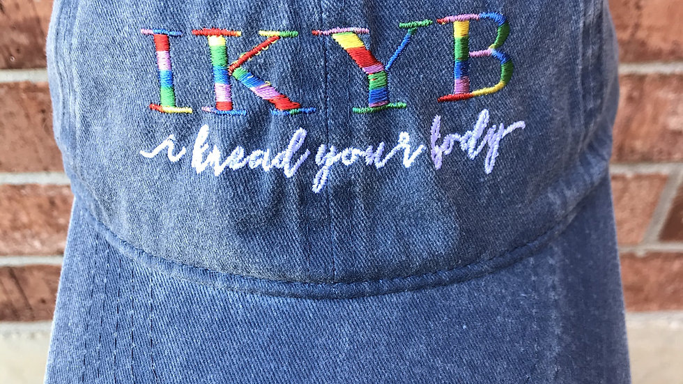 IKYB Denim Ball Cap