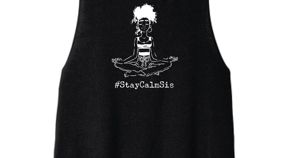 Stay Calm Sis Crop Top
